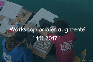 Workshop papier augmenté
